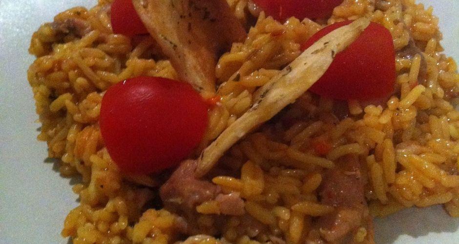 Ρυζι με κοτόπουλο αλα ΜΡ
