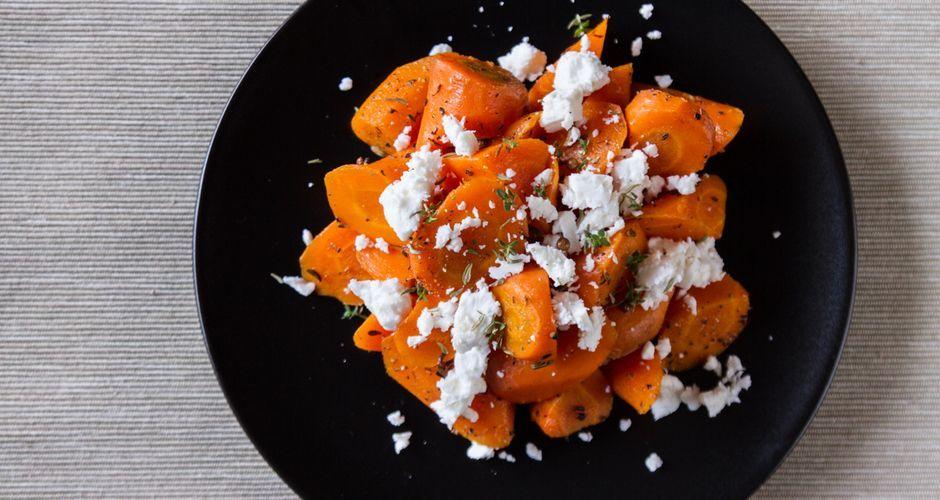 Σαλάτα με καρότο και φέτα