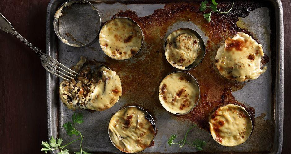 Vegetarian Moussaka Recipe Akis Petretzikis