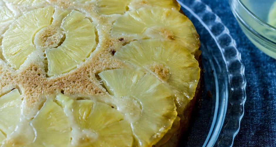 Pineapple and Ginger Cake