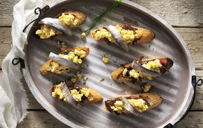 Recipe thumb akis petertzikis egg salad with anchovies