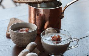 Recipe thumb akis petretzikis soupa apo manitaria