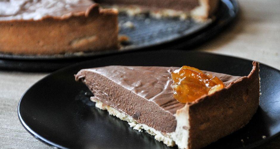 Γαλλική σοκολατόπιτα
