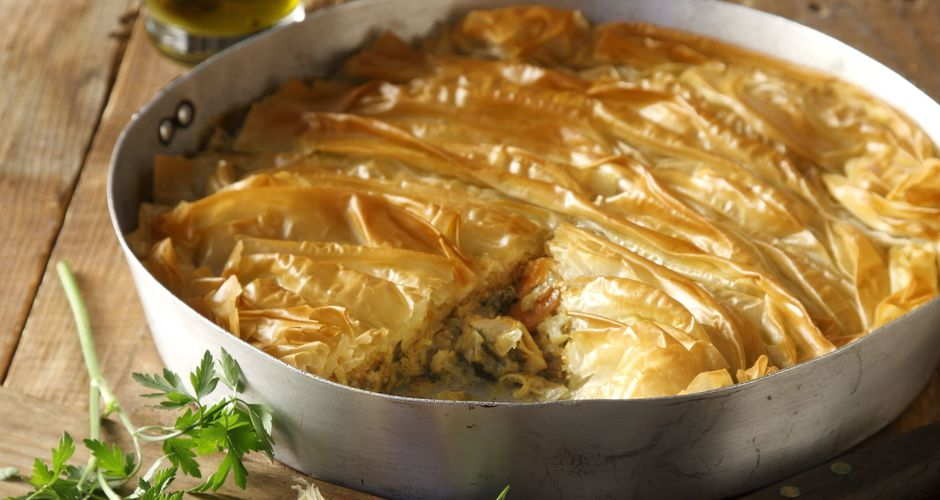 Turkey and Leek Pie