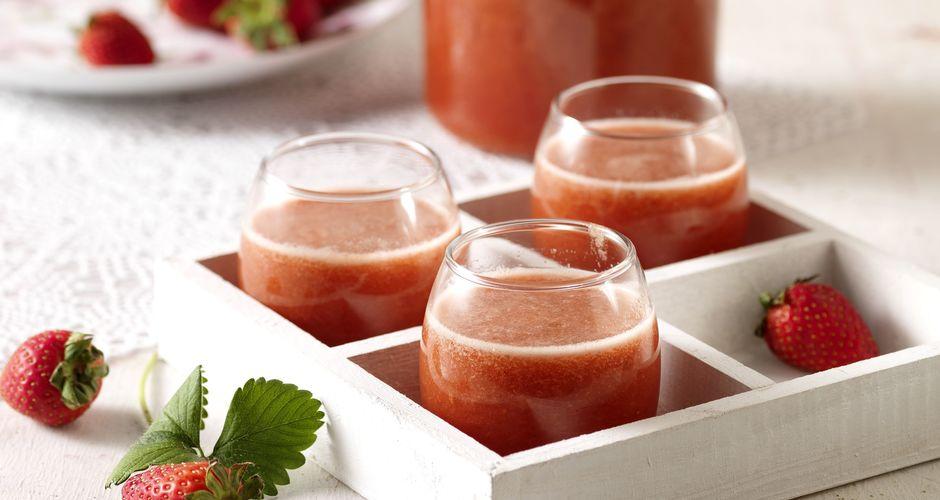 Homemade Strawberry Drink