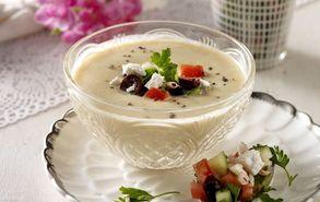 Recipe thumb akis petretzikis soupa me revithia kai taxini