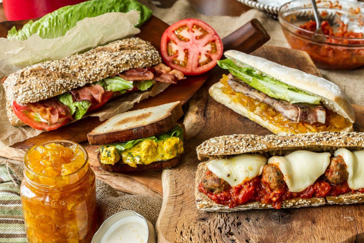 Akis petretzikis sandwiches teliki
