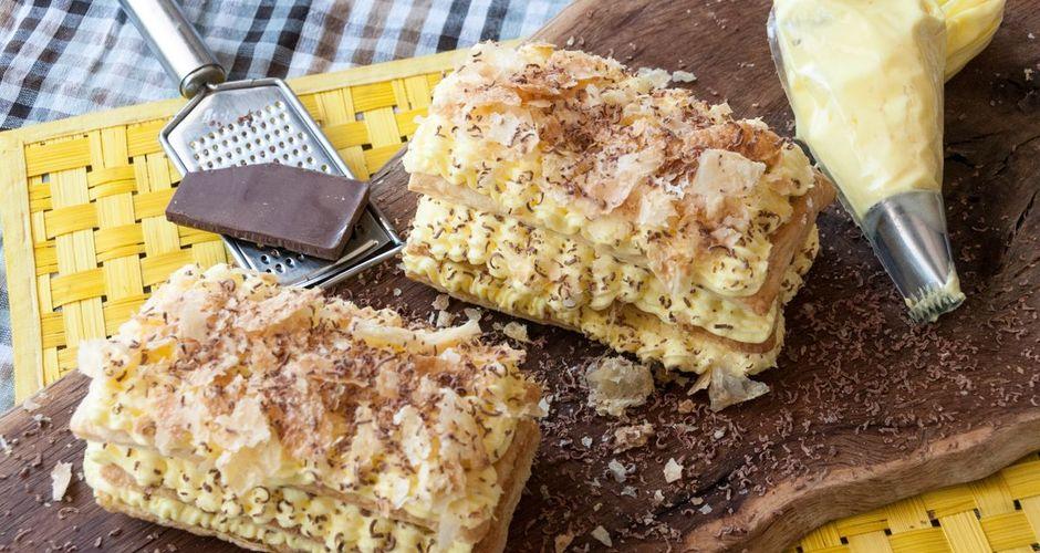 Banana Mille Feuille - Banana Napoleon