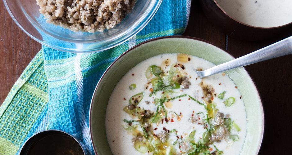 Quinoa and Lentil Soup