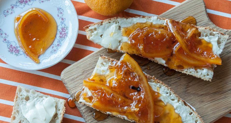 Orange-Apple Spice Marmalade