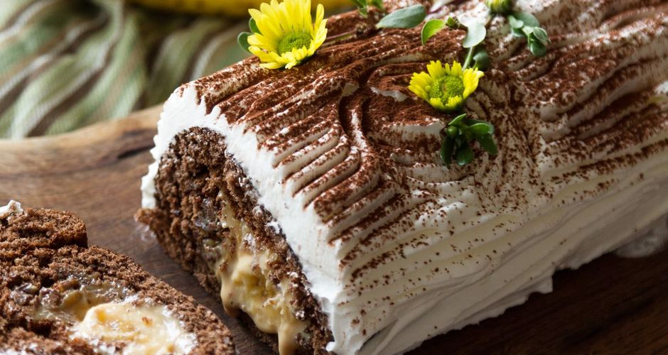 Roulade Banoffee