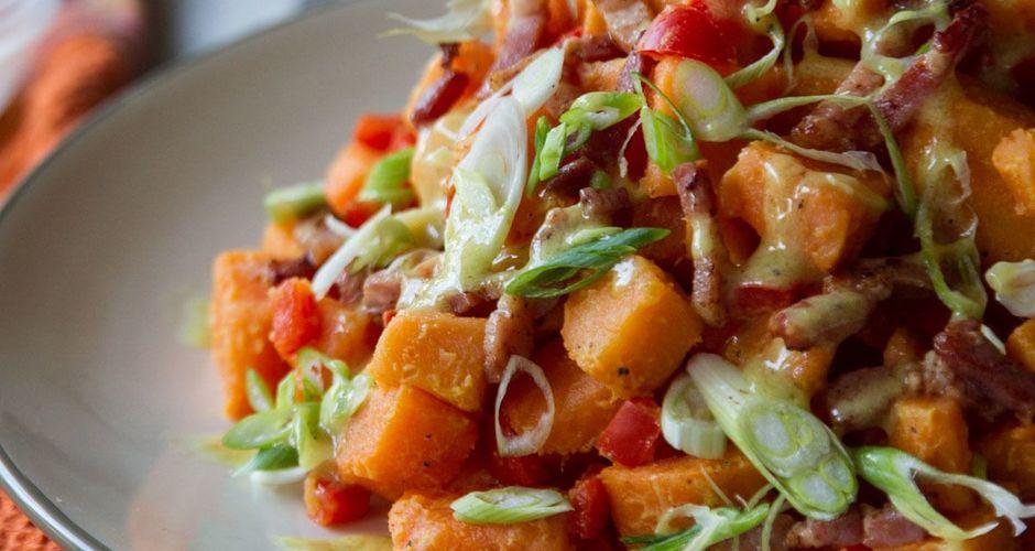 Σαλάτα με γλυκοπατάτες