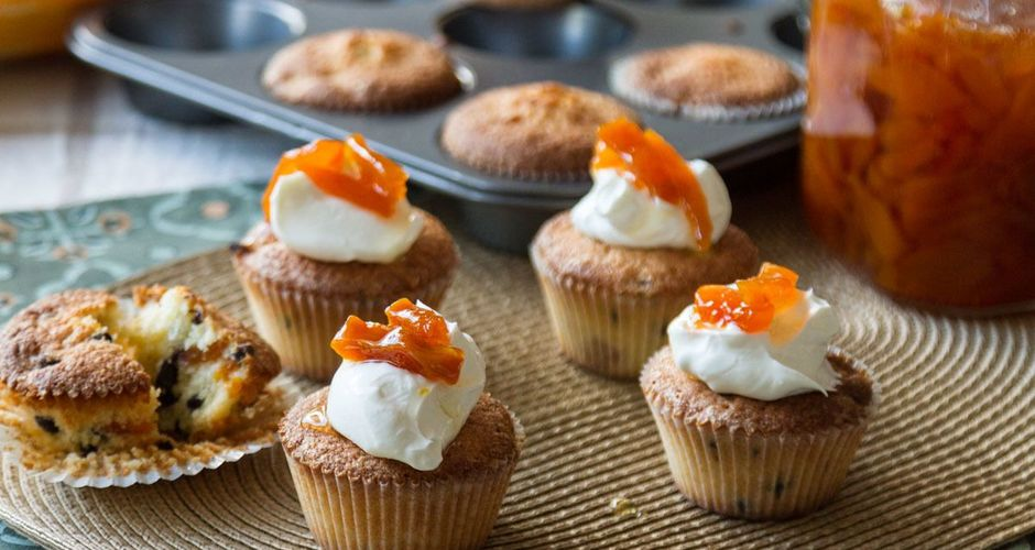Frangipan Muffins