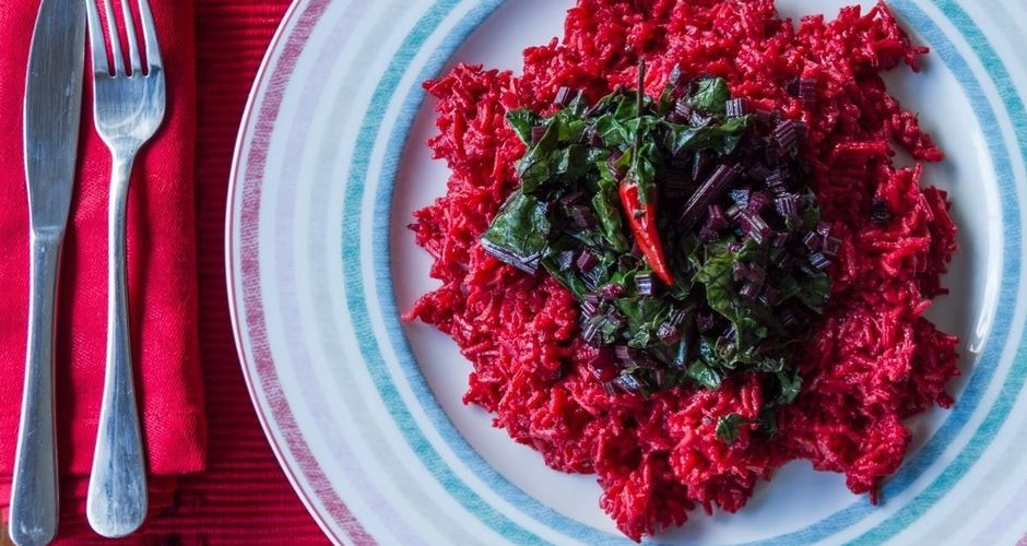 Spicy Beetroot Rice