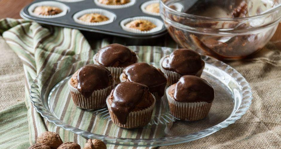 Cupcakes με ταχίνι