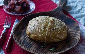 Recipe thumb akis petretzikis camembert me chutney