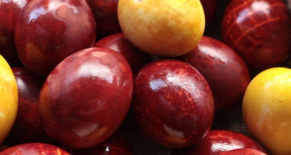 Easter Egg Dye from Onion Skins