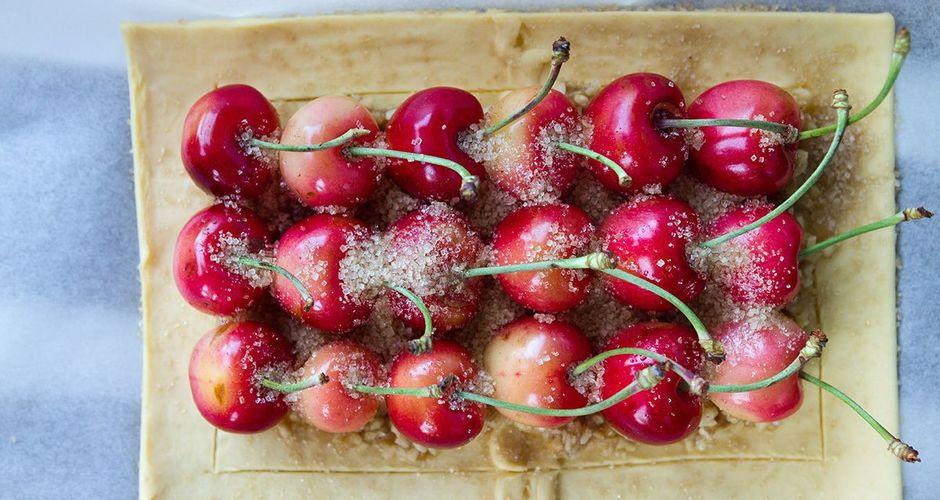 Almond Paste Fruit Tarts