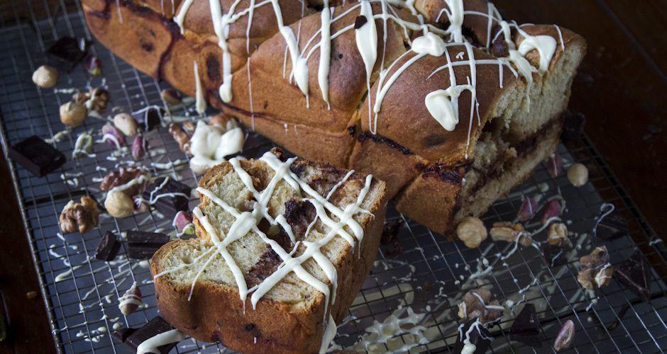 Halvah Filled Sweetbread