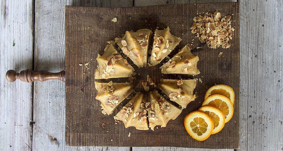 Semolina Orange Cake – Halvah