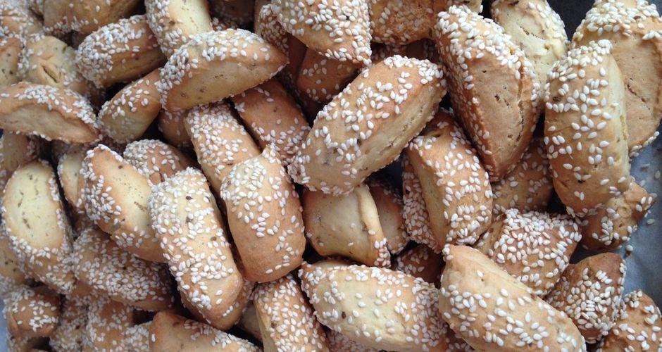 Τραγανά Κουλουράκια με γλυκάνισο και Ούζο