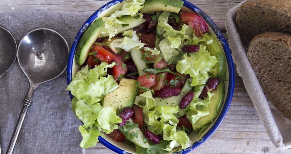 Avocado and Bean Salad