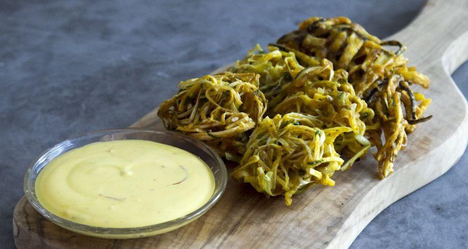 Τηγανίτες με λαχανικά (Pakoras)