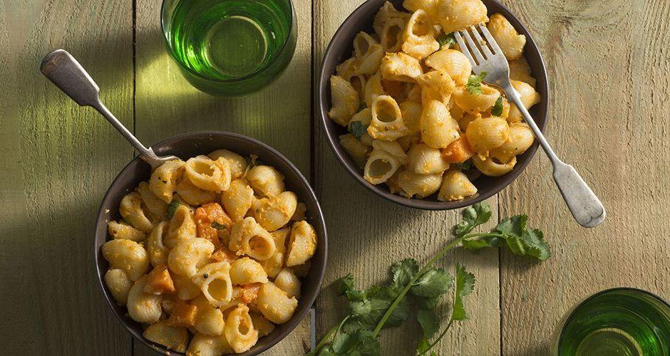 Pasta Shells with Pumpkin Pesto