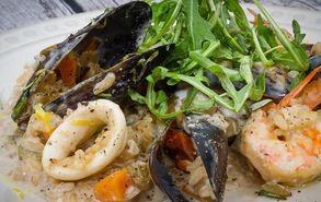 Recipe thumb akis petretzikis seafood risotto