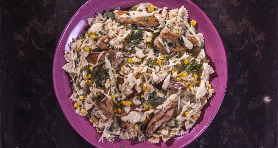 Chicken and Bow Tie Pasta Salad