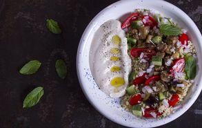Recipe thumb akis petretzikis salata kouskous