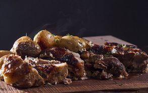 Recipe thumb akis petretzikis xoirino me patates