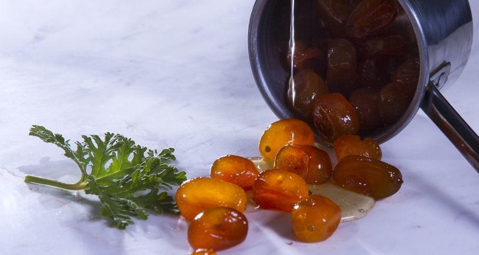 Kumquat spoon sweet