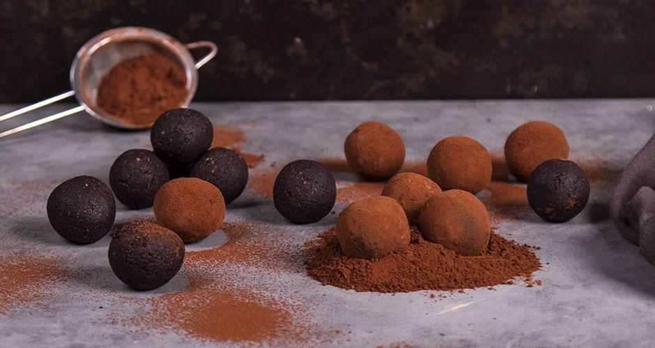 Ενεργειακές αρωματικές μπουκίτσες σοκολάτας