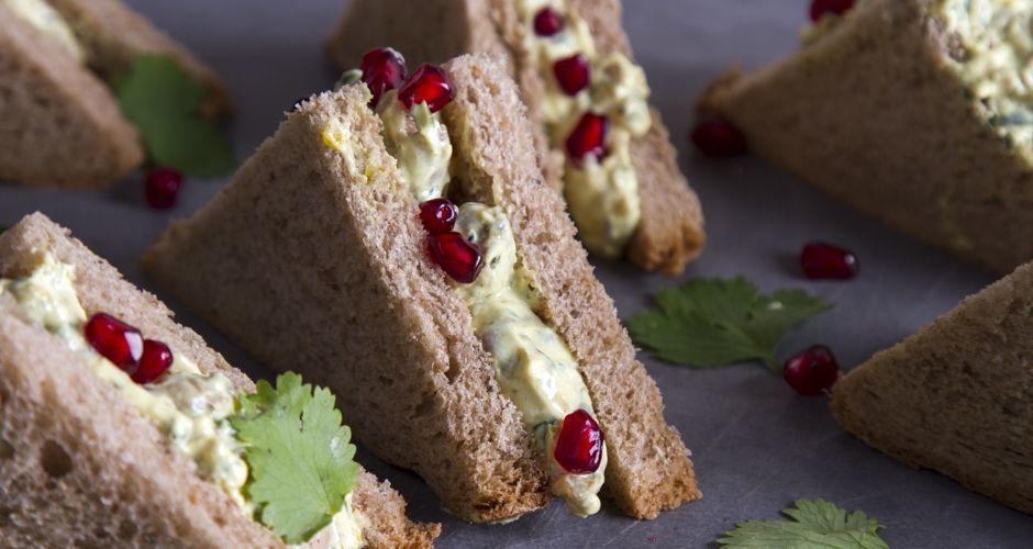 Coronation sandwich