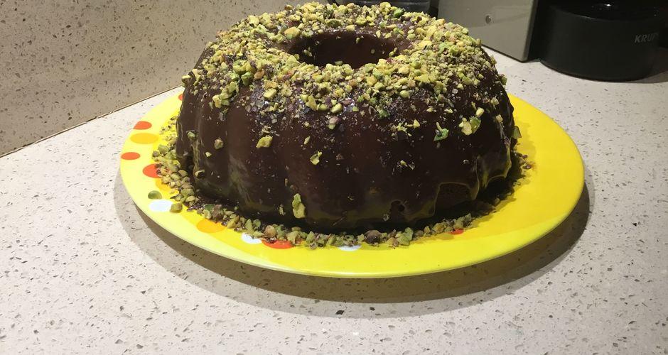 Cake βανίλια σοκολάτα