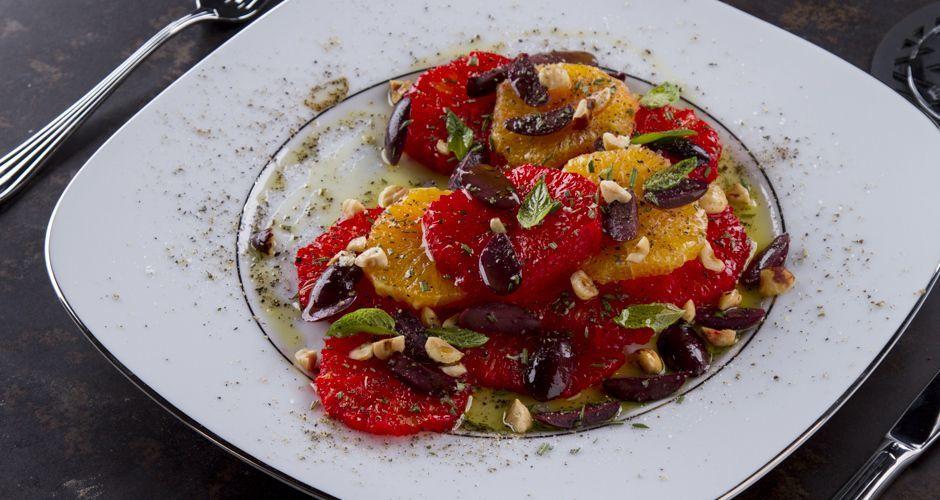 Citrus Salad with Hazelnuts