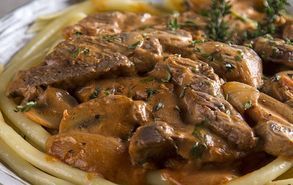 Recipe thumb akis petretzikis stroganoff site video
