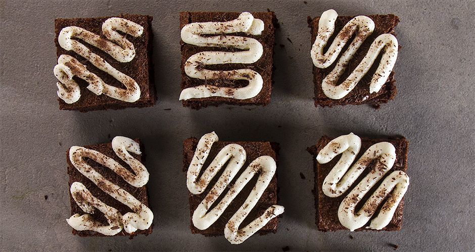 Gluten free hazelnut brownies