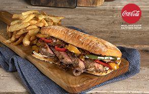 Recipe thumb philly cheesesteak sandwich