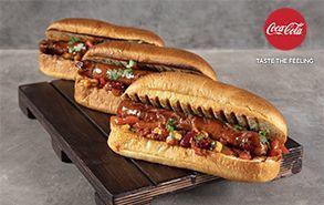 Recipe thumb hot dog me kauteri saltsa ntomatas 26 9 19 coca cola thumb